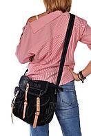 Сумка кэжуал через плечо черная