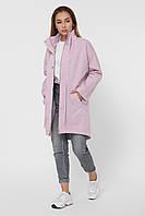 Парка куртка женская стильная деми розовая LS-8846-21