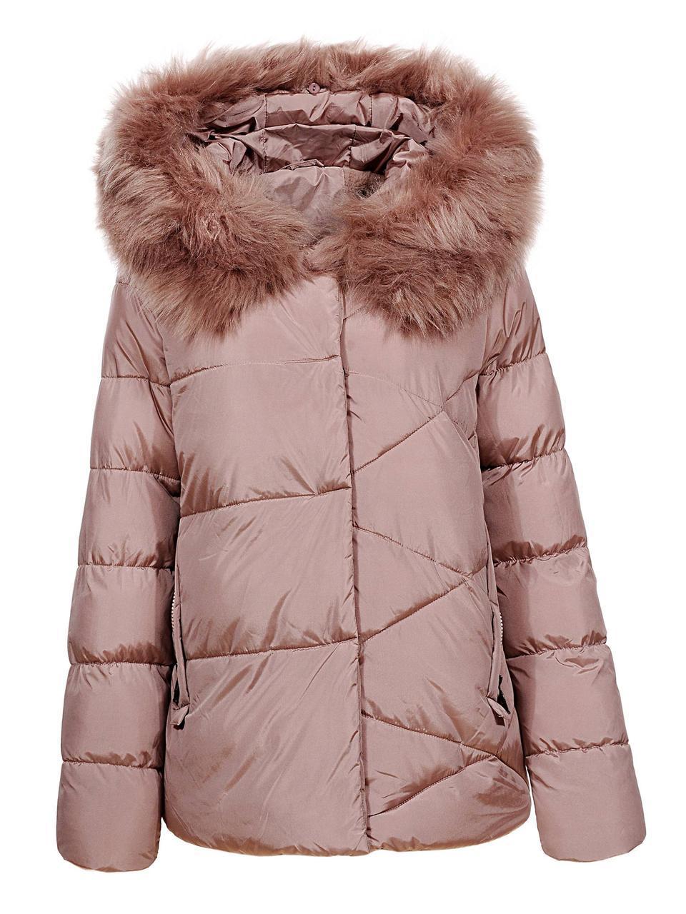 Оригинальная Куртка Пуховик Женская Glo-Story WMA-6562 Сream Кремовый Зима