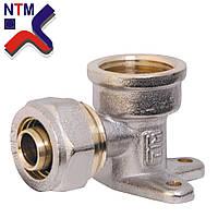 Угол монтажный для Металлопластиковой трубы L16*1/2в (неразборной)
