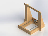 Корпус 3D принтер Graber i3, фото 1