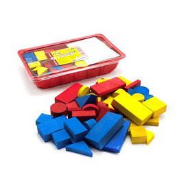 Конструктор разноцветный (48 деталей)  scs
