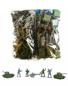 "Военный набор (солдатики) ""Защитник 3"" арт. 1-044  sco"
