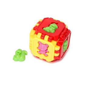 Кубик пазл с животными (разноцветный)  sco