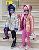 Стильная ультраблестящая детская куртка, фото 5