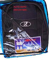 Авто чехлы Lada Largus 2012- 5 мест (раздельная) Nika, фото 1