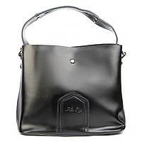 Женская сумка из натуральной кожи черного цвета. КОЛ-В ОГРАНИЧЕННО!