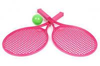 Детский набор для игры в теннис ТехноК (розовый)  sco