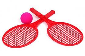Детский набор для игры в теннис ТехноК (красный) 0373