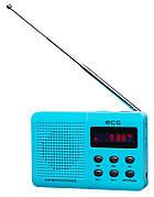 Портативний радіоприймач ECG R 155 U Блакитний