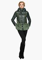 Воздуховик женский осенне-весенний темный хаки Braggart Angel's Fluff