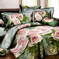 Полуторный комплект постельного белья 145*220 из ранфорса