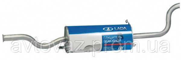 Глушитель основной ВАЗ 2110 с 2008 г.в., (алюминизированный) АВТОваз
