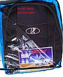 Чехлы для Ваз 2110 1995- sedan синие Nika, фото 3