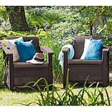 Комплект садових меблів Curver Corfu Duo, фото 4