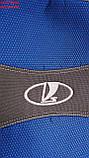 Чехлы для Ваз 2110 1995- sedan синие Nika, фото 4