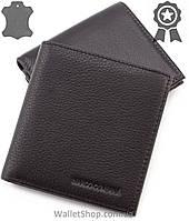 Мужской кожаный кошелек под 12 карточек Marco Coverna