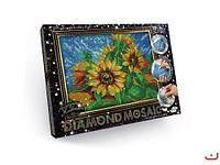 "Алмазная живопись ""DIAMOND MOSAIC"", ""Подсолнух"" DM-02-02 scs"