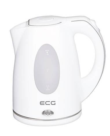 Электрочайник ECG RK 1550 1.5 л Белый матовый, фото 2