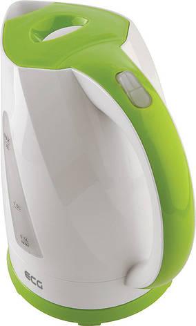 Электрочайник ECG RK 1845 1.8 л Белый / Зеленый, фото 2