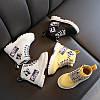 Стильные ботиночки с нашивками,  3 цвета
