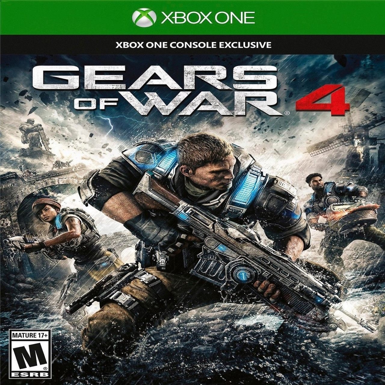 Gears of War 4 RUS XBOX ONE (Код)