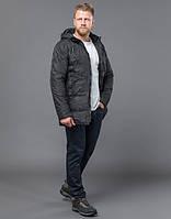 Куртка мужская зимняя черная Braggart
