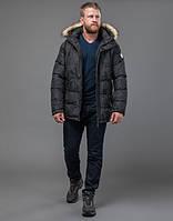 Куртка зимняя мужская темно-серая Tiger Force