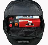 Рюкзак Lixing туристичний червоний, фото 3