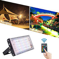Прожектор LED  MRY-TGD-50W RGB IP65, фото 10