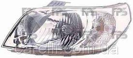 Фара передняя для Chevrolet Aveo '08- левая (DEPO) механическая
