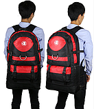 Рюкзак Lixing туристичний червоний, фото 2