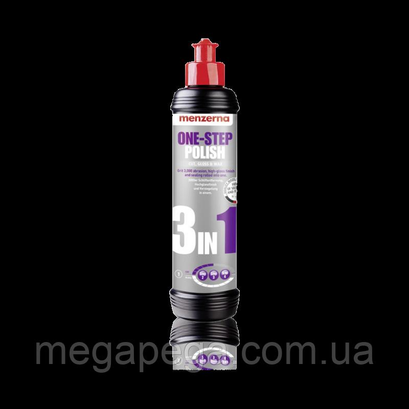Универсальная полировальная паста Menzerna One-Step Polish 3 in 1 Cut, Gloss & Wax, 250 мл