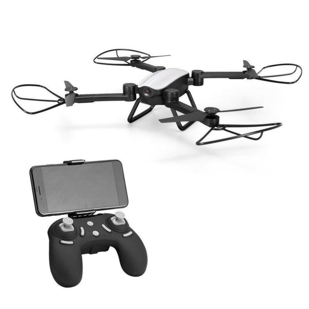 Радиоуправляемый квадрокоптер X9TW c WiFi камерой летающий дрон коптер складывающийся корпус Серый