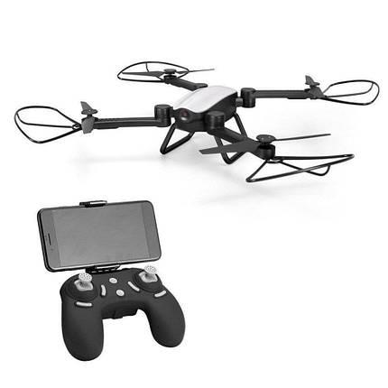 Радиоуправляемый квадрокоптер X9TW c WiFi камерой летающий дрон коптер складывающийся корпус Серый, фото 2
