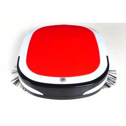 Робот пылесос Красный, фото 2