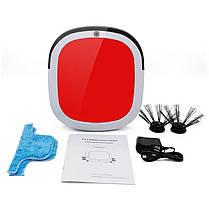 Робот пылесос Красный, фото 3