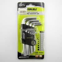 Шестигранные ключи Sigma (4022011) 9 штук 1.5-10мм.