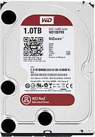 "Жесткий диск для компьютера 3.5"" 1 Тб/Tb Western Digital Red, SATA3, 64Mb, 5400 rpm (WD10EFRX), винчестер hdd"
