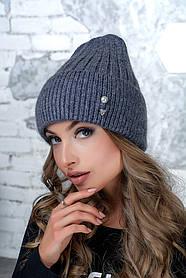 Женская шапка Flirt Сонг One Size джинс