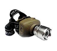 Налобный фонарь X-BALOG BL-6601 Aluminium zoom LED Headlamp