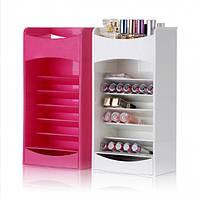 Вертикальный органайзер для косметики Cosmake Lipstick And Nail Polish Organizer R187046