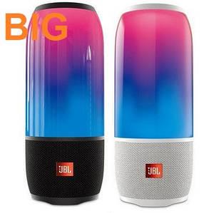 Колонка портативная JBL Pulse 3 большая Bluetooth с подсветкой.