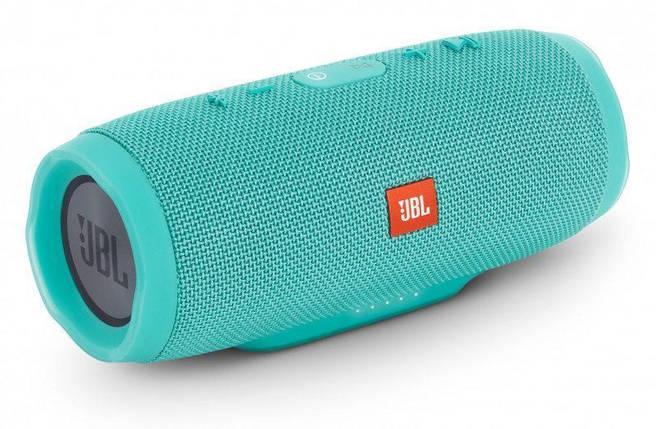 Акция! Колонка JBL Charge 3+ портативная Bluetooth + 2 подарка. бирюзовая, фото 2