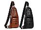 Cумка Jeep 1941 new 2 кармана мужская сумка через плечо  Джип + часы Swiss Army и наушники в Подарок, фото 8