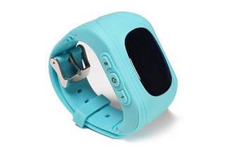 Детские умные смарт-часы Q50 с GPS трекером. Smart Watch голубые, фото 3