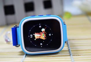 Детские смарт-часы Q80 с GPS трекером. Smart Watch детские умные часы синии, умные часы детские