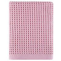 Полотенце вафельное Arya Pike розовое 50х90 см