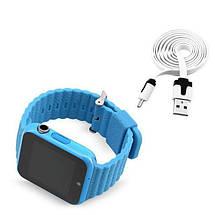 Умные детские часы с  gps трекером SMART BABY watch v7k 3 цвета (gps+lbs) , фото 3