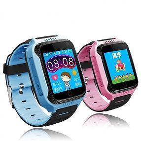 Детские смарт часы Smart Baby Watch Q529 голубые и розовые